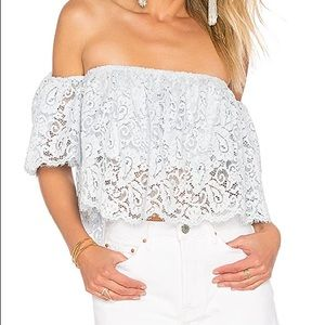 Lovers + Friends | Bayside Off The Shoulder Top